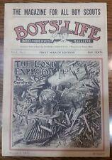 Vintage Boy's Life Reprint March 1, 1911 1st Edition BSA Boy Scouts Magazine