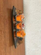 Painted Ceramic Decorative Tray.... Perfect For Candles/ Potpourri: BNWOT