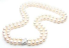$10,799 Pacific Pearls® AAA 7.5-8mm Japanese Akoya Saltwater Pearl Necklace