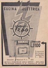 Z4094 Cucina elettrica FEBO - Pubblicità d'epoca - 1931 vintage advertising