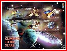 DOMINICA 2000 ASTRONOMY & SPACE M/S EXPLORER 14 MNH neuf UNMOUNTED(STILL WATCH?)