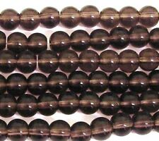 200 Amethyst 4mm Crystal Round beads Jewellery Making