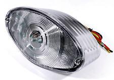 12V LED Cateye Rücklicht für Harley Suzuki Kawasaki Ducati Honda Yamaha  weiß