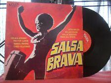 SALSA BRAVA LP Ismael Rivera Y Sus Cachimbos Hector Lavoe Cheo Feliciano LATIN