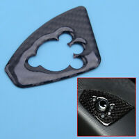 Car Carbon Fiber Style Wing Mirror Switch Cover Trim fit for Audi TT TTRS 08-14