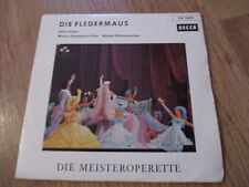 Vinyl7 Hilde Güden Die Fledermaus Wiener Staatsopernchor  German Press EP gut