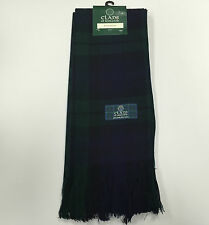 Black Watch 100% Pure Wool Ladies Tartan Sash Made in Scotland Brand New