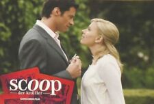 SCOOP - Lobby Cards Set - Hugh Jackman, Scarlett Johansson, Woody Allen