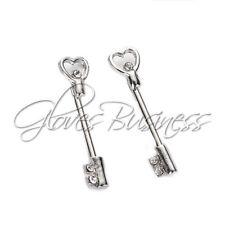 1 Pair Nipple Ring Bars Skeleton Key Body Piercing Jewelry Nipple Rings
