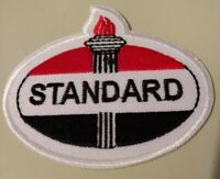 Standard Gas & Oil Logo Embroidered 2.75 X 3 In. Patch Collectible Advertising