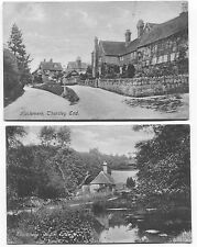 2 1910-20 era Haslemere Thursley End & Chase Cottage England  Postcards