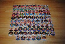 pogs caps milkcaps flippo : serie complète de 96 pog euro 96 panini snickers