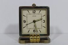 Vintage Swiss LeCoultre Alarm Clock