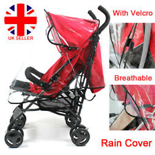 Universal Rain Cover Raincover For Buggy Pushchair Stroller Pram Baby Car Clear