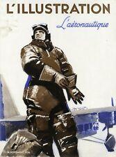 """""""L'ILLUSTRATION 14/11/1936: L'AERONAUTIQUE"""" Couverture originale entoilée BRENET"""
