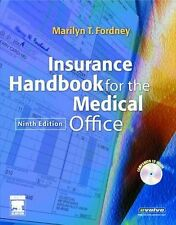NEW Insurance Handbook for the Medical Office, 9e by Marilyn Fordney CMA-AC