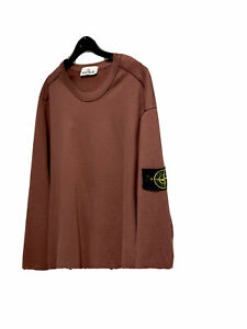 Stone Island Sweatshirt M Dunkelrot