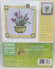 Debbie Mumm Mini Counted Cross Stitch Kit - Herb Farm Chives