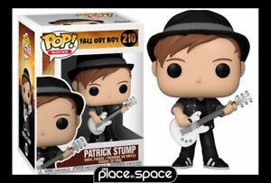 POP! ROCKS:FALL OUT BOY - PATRICK STUMP FUNKO POP! VINYL FIGURE #210