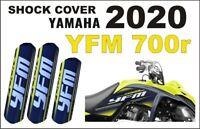 Stoßdämpfer Federbeinschützer Quad ATV Shock Covers Yamaha YFM 700R