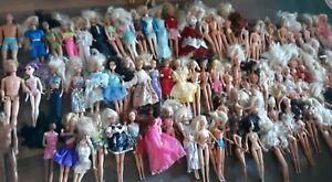 Huge Lot! Vintage Barbie Dolls 50s to 90s . Some Clothed some Naked 100 + 5 Ken