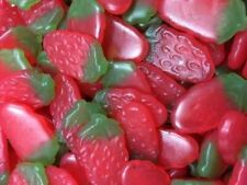Haribo Retro Jelly Sweets Giant Strawberries - Ideal Wedding / Party Bag