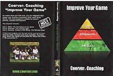 COERVER IMPROVE YOUR GAME 3 DVD SET soccer training football drills