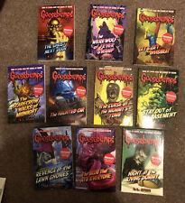 Bundle Goosebumps Books