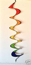 """Kite Tail / Spinner 9"""" x 60"""" + metal swivel hooks + Boat or Garden for X-Bird"""