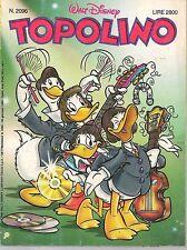 TOPOLINO N° 2096 - 30 GENNAIO 1996