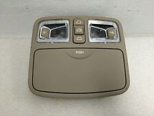 05 08 KIA SPECTRA OVERHEAD LIGHT ROOF MAP LAMP COMPARTMENT OEM W/SUN ROOF SWITCH