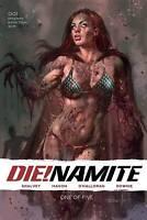 DIE!NAMITE #1 PARRILLO COVER A 10/7/20 Pre-Sale NM