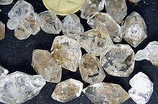 3 Rare Himalayan Double Terminated Quartz Diamonds Crystals Wand Healing Chakra