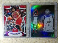 2019-20 Coby White RC Rookies & Stars Purple /49 & Rui Hachimura Essentials