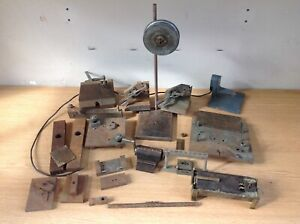 Clockmakers collection of Workshop Lathe Parts and Tools 13kg in total