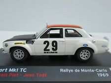 ALTAYA, FORD ESCORT Mk 1 TC, 1:43 Scale, MONTE CARLO RALLY 1969, Piot/Todt NEW!