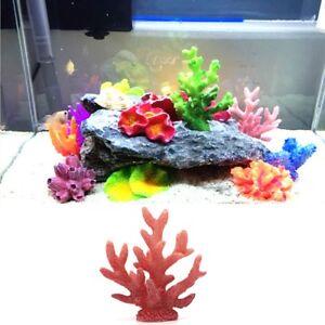 [EL] Aquarium Decorated Fish Tank Reef Decorations With Artificial Coral Plants