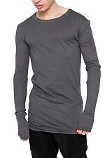 Figurbetonte Herren-Freizeithemden & -Shirts aus Baumwolle mit Rundhals ohne Mehrstückpackung