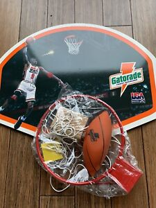 Michael Jordan Gatorade Basketball Hoop Bulls Dream Team The Last Dance- New!!!