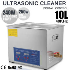 10L Ultraschall Reinigungsgerät Ultraschallreiniger Ultrasonic Cleaner + Korb DE