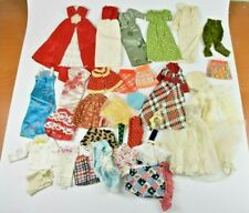 Vintage Barbie Clothes Lot of 32 Skirts Dresses Blouses Pants Francie Skipper