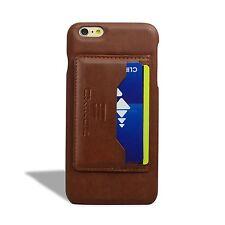 iPhone 6S Plus Case, EXINOZ [KICKSTAND] Slim Wallet Cover Case