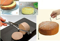 Double Wire Adjustable Cake Slicer Cutter Leveller Decorating Bread Baking Tools