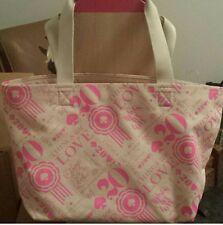 Kate Spade 20th Anniversary Limited Edition Canvas Tote Euc