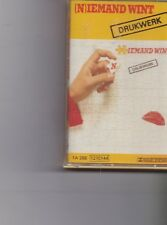 Drukwerk-Niemand Wint music Cassette