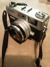 Canon Cononet QL17 G-III 35mm Rangefinder 40mmF/1.7 lens Case Very Good Vintage