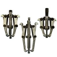 "Gear Puller 3 Leg Hub Bearing Removal Pulley Tool Set 3"" 4"" 6"" Internal External"