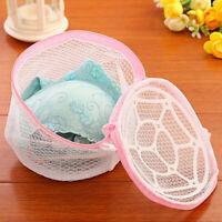 HN- Laundry Mesh Bra Socks Washing Zipped Clothes Bag Wash Underwear Net Pouch G