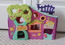 2007 Littlest Pet Shop Purple Club House Tree Big Play House Hasbro