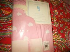 Pottery Barn Kids Pink Hearts Sham, Cotton Percale, 1 Standard, New